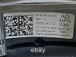 5g0419091aq Bps Flying Flat Multifunction Vw Golf Mk7 VII Gtd 2l Tdi 184ph Oem
