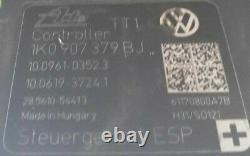 Block Abs Volkswagen Golf6 2.0 Tdi 1k0907379bj / 1k0 907 379 Bj