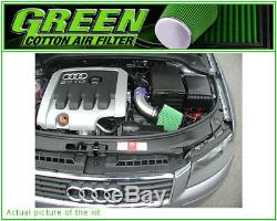 Direct Air Intake Kit Green Volkswagen Golf 5 Plus 2.0l Tdi 140cv 03