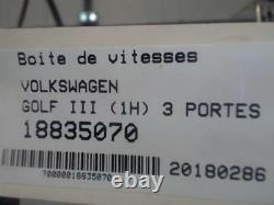 Gearbox Volkswagen Golf 3 1.9 Tdi 8v Turbo /r18835070