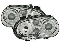 Lights Lights Before Vw Volkswagen Golf 4 Gti Tdi Sdi 9 Ice Smooth Chrome Look R32