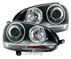 Lights Lights Before Vw Volkswagen Golf 5 2.0 Tdi 2.0 Tfsi R32 Gti Gti Look Black