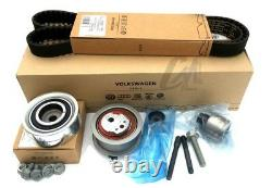 Original Volkswagen Vw Golf VI Polo 6r 1.6 2.0 Tdi Distribution Belt Kit