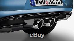 Rear Bumper Addition Look R32 Vw Golf 7 VII Saloon 2.0 Tdi 4motion 11/2012