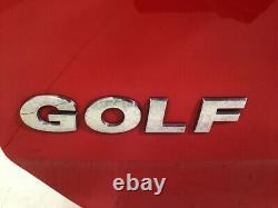 Red Ly3d Hayon / Hayon, Vw Golf VII Rear Hood (5g1, Bq1, Be1, Be2) 2.0 Tdi 110