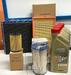 Service Kit Original Filters 4 5 Lt Castrol Edge 5w30 Vw Golf VII 7 1.6 Tdi