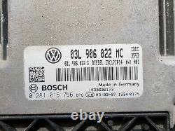 Starter Kit Volkswagen Golf 6 VI 2.0tdi 110hp Cbdc