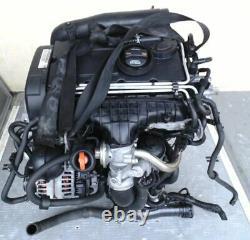 Tp Engine Volkswagen 2.0 Tdi Bkd Audi Skoda Seat 69tkm Complete With Turbo