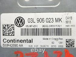 Volkswagen Golf 6 1.6 Tdi 90cv Engine Calculator Kit 03l906023mk 5wp42690 Aa