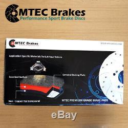 Volkswagen Golf Break 2.0 Tdi 09-14 Before Pads Brake Discs Mtec