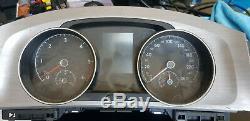 Vw Golf Tdi Mk 7 Speedometer / Instrument Cluster 5g1920 Kilometers