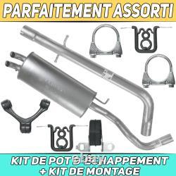 Vw Silent Exhaust Kit Volkswagen Golf 4 IV 1.9 Tdi Hayon