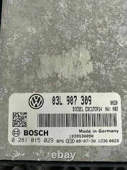 Ecu Calculateur Moteur A Reprogrammer Volkswagen Vw Golf 6 Edc17cp14 0281015029