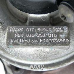 Original Turbocompresseur Turbo 03L253010F VW Golf 6 VI Tiguan 5N 5N2 2,0TDI