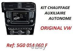 Original Volkswagen Standheizung VW Golf VII 7 1,6L TDI 66/77/81 KW