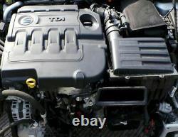Tp Moteur Volkswagen 2.0 Tdi Cun Cuna Golf VII Skoda Audi Seat 78TKm Unkomplett