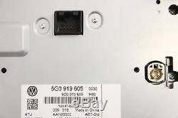 VW Golf MK7 1.6 Tdi 2015 RHD Infotainment Ecran Tactile Écran Contrôle 5G0919605