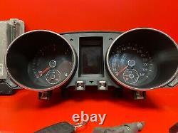 Volkswagen Golf 6 2.0 Tdi Kit Demarrage Calculateur Ref 03l907309 0281015029