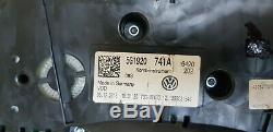 Vw Golf Tdi Mk 7 Speedometer / Instrument Cluster 5g1920 Kilometres